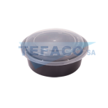 T51-black-pp-microwave-container-900ml-dome-lid