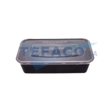 T45-rectangular-pp-microwave-container-1000ml-flat-lid